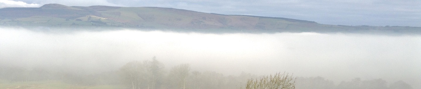 Mist over Radnor Valley